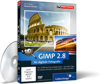 Cover zum Video-Training GIMP 2.8 für digitale Fotografie