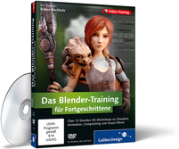 Zum Video-Training Das Blender-Training f�r Fortgeschrittene