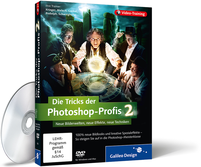 Cover zum Video-Training Die Tricks der Photoshop-Profis - Volume 2