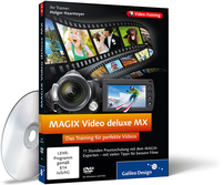 Cover zum Video-Training MAGIX Video deluxe MX