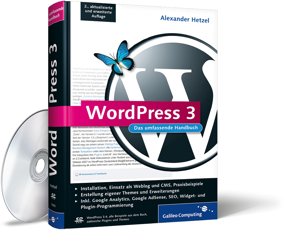 Galileo WordPress 3 Handbuch