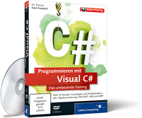 Cover zum Video-Training Programmieren mit Visual C#