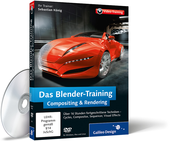 Cover zum Video-Training Das Blender-Training: Compositing & Rendering
