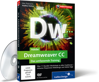 Cover zum Video-Training Adobe Dreamweaver CC