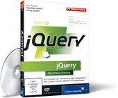 Cover zum Video-Training jQuery